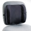 "BACKREST,13""W,VELOUR,BK"
