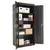 "<strong>Alera®</strong><br />Assembled 78"" High Storage Cabinet, w/Adjustable Shelves, 36w x 24d, Black"