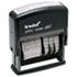 <strong>Trodat®</strong><br />Trodat Economy 12-Message Stamp, Dater, Self-Inking, 2 x 0.38, Black