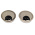 "<strong>Alera®</strong><br />Alera Valencia Series Optional Grommets, 2.63"" Diameter, Silver Metal, 2/Pack"