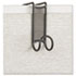 <strong>Safco®</strong><br />Onyx Panel/Door Coat Hook, Steel
