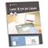<strong>MACO®</strong><br />White Laser/Inkjet Full-Sheet Identification Labels, Inkjet/Laser Printers, 8.5 x 11, White, 100/Box