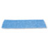 """<strong>Rubbermaid® Commercial</strong><br />Economy Wet Mopping Pad, Microfiber, 18"""", Blue, 12/Carton"""