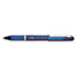 EnerGel NV Liquid Gel Pen, .5mm, Gray Barrel, Black Ink, Dozen