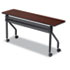 <strong>Iceberg</strong><br />OfficeWorks Mobile Training Table, 60w x 18d x 29h, Mahogany/Black