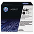 <strong>HP</strong><br />HP 64X, (CC364X) High Yield Black Original LaserJet Toner Cartridge
