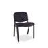 <strong>Alera®</strong><br />Alera Continental Series Stacking Chairs, Black Seat/Black Back, Black Base, 4/Carton