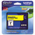 "<strong>Brother P-Touch®</strong><br />TZe Standard Adhesive Laminated Labeling Tape, 0.94"" x 26.2 ft, Black on Yellow"