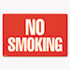 <strong>COSCO</strong><br />Two-Sided Signs, No Smoking/No Fumar, 8 x 12, Red