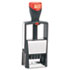 <strong>COSCO 2000PLUS®</strong><br />Self-Inking Heavy-Duty Line Dater w/Microban, 1 1/4 x 5/8, Black