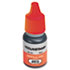<strong>COSCO</strong><br />ACCU-STAMP Gel Ink Refill, Red, 0.35 oz Bottle