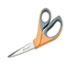 "<strong>AbilityOne®</strong><br />5110012414371 SKILCRAFT Scissors, 8.25"" Long, 3.63"" Cut Length, Orange/Gray Offset Handle"