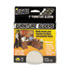 """<strong>Master Caster®</strong><br />Mighty Mighty Movers Reusable Furniture Sliders, Round, 5"""" Dia., Beige, 4/Pack"""