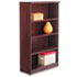 <strong>Alera®</strong><br />Alera Valencia Series Bookcase, Four-Shelf, 31 3/4w x 14d x 54 7/8h, Mahogany