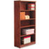 <strong>Alera®</strong><br />Alera Valencia Series Bookcase, Five-Shelf, 31 3/4w x 14d x 64 3/4h, Medium Cherry