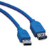 <strong>Tripp Lite</strong><br />USB 3.0 SuperSpeed Extension Cable (A-A M/F), 10 ft., Blue