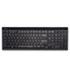 <strong>Kensington®</strong><br />Slim Type Standard Keyboard, 104 Keys, Black/Silver
