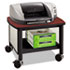 <strong>Safco®</strong><br />Impromptu Under Table Printer Stand, 20.5w x 16.5d x 14.5h, Black/Cherry