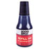 <strong>COSCO 2000PLUS®</strong><br />Self-Inking Refill Ink, Black, 0.9 oz. Bottle