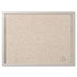 <strong>MasterVision®</strong><br />Designer Fabric Bulletin Board, 24X18, Gray Fabric/Gray Frame