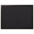 <strong>MasterVision®</strong><br />Designer Fabric Bulletin Board, 24 x 18, Black Fabric/Black Frame