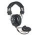 <strong>AmpliVox®</strong><br />Deluxe Stereo Headphones w/Mono Volume Control, Black