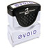<strong>ACCUSTAMP2®</strong><br />Pre-Inked Shutter Stamp, Blue, VOID, 1 5/8 x 1/2