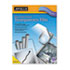 <strong>Apollo®</strong><br />Plain Paper B/W Laser Transparency Film w/Handling Strip, Letter, Clear, 100/Box
