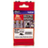 """<strong>Brother P-Touch®</strong><br />TZe Extra-Strength Adhesive Laminated Labeling Tape, 0.35"""" x 26.2 ft, Black on White"""