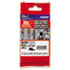 """<strong>Brother P-Touch®</strong><br />TZe Extra-Strength Adhesive Laminated Labeling Tape, 0.35"""" x 26.2 ft, Black on Clear"""