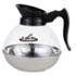 <strong>Coffee Pro</strong><br />Unbreakable Regular Coffee Decanter, 12-Cup, Stainless Steel/Polycarbonate
