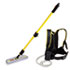 """<strong>Rubbermaid® Commercial</strong><br />Flow Finishing System, 56"""" Handle, 18"""" Mop Head, Yellow"""