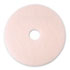 "<strong>3M&#8482;</strong><br />Ultra High-Speed Eraser Floor Burnishing Pad 3600, 20"" Diameter, Pink, 5/Carton"