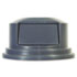 """<strong>Rubbermaid® Commercial</strong><br />Round BRUTE Dome Top Lid for 55 gal Waste Containers, 27.25"""" diameter, Gray"""