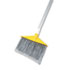 """<strong>Rubbermaid® Commercial</strong><br />Angled Large Brooms, Poly Bristles, 48 7/8"""" Aluminum Handle, Silver/Gray"""