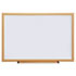 <strong>Universal®</strong><br />Dry Erase Board, Melamine, 36 x 24, Oak Frame