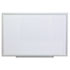 <strong>Universal®</strong><br />Dry Erase Board, Melamine, 36 x 24, Aluminum Frame
