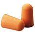 MMM1100 - Foam Single-Use Earplugs, Cordless, 29NRR, Orange, 200 Pairs