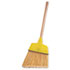 """<strong>Weiler®</strong><br />Angle Broom, Flagged Plastic Bristles, 7-1/2"""" - 6"""" Bristles, 54"""" Length"""