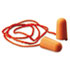 <strong>3M&#8482;</strong><br />Foam Single-Use Earplugs, Corded, 29NRR, Orange, 100 Pairs