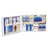 PKT6135 - 75-Person Two-Shelf Industrial First Aid Station, Steel Cabinet, 443 Pieces