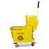 <strong>Magnolia Brush</strong><br />Mop Bucket/Wringer Combo, Plastic, Yellow