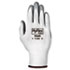 <strong>AnsellPro</strong><br />HyFlex Foam Gloves, White/Gray, Size 8, 12 Pairs