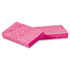 """<strong>Boardwalk®</strong><br />Small Cellulose Sponge, 3 3/5 x 6 1/2"""", 9/10"""" Thick, Pink, 2/Pack, 24 Packs/CT"""