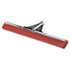 "<strong>Unger®</strong><br />Heavy-Duty Water Wand, 30"" Wide Blade, Red Neoprene, Tapered Socket"