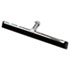 "<strong>Unger®</strong><br />Water Wand Standard Floor Squeegee, 18"" Wide Blade, Black Rubber, Insert Socket"