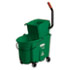 RCP758888GRE - WaveBrake Side-Press Wringer/Bucket Combo, 8.75 gal, Green