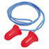 HOWMAX30 - MAX-30 Single-Use Earplugs, Corded, 33NRR, Coral, 100 Pairs