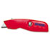 <strong>IRWIN®</strong><br />Self-Retracting Safety Knife, 1 Retractable Blade, Red/Silver