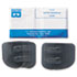 <strong>Bouton®</strong><br />Slip-On Sideshields, Plastic, Clear, 10 Pairs/Box